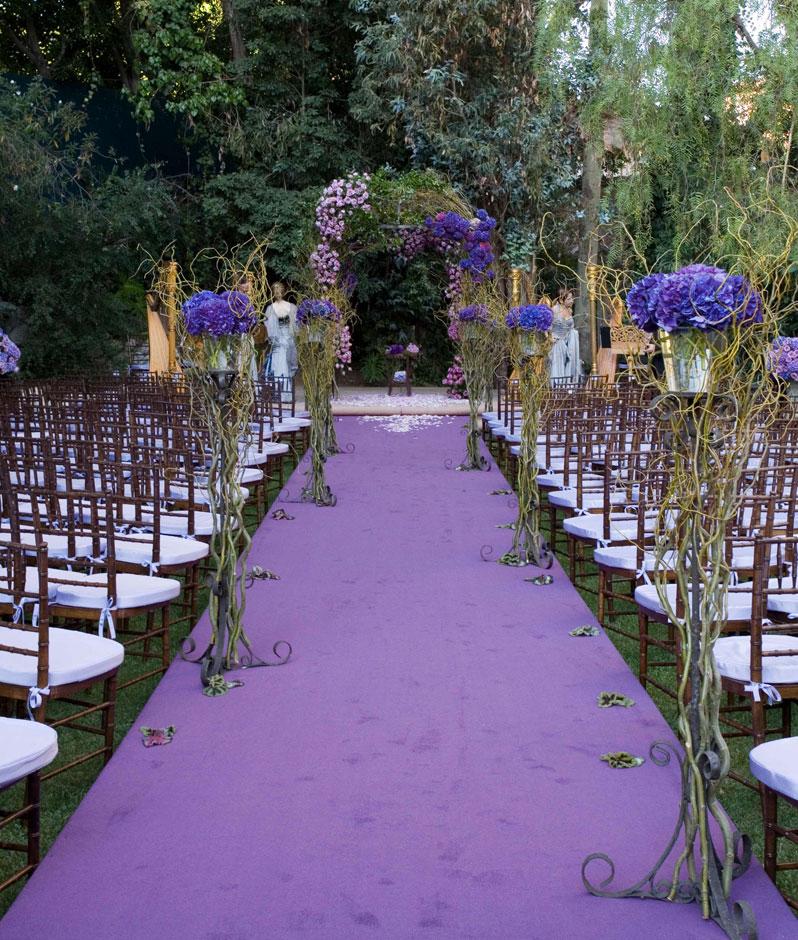 Garden wedding aisle decorations : Nyc wedding photography wednesday branham
