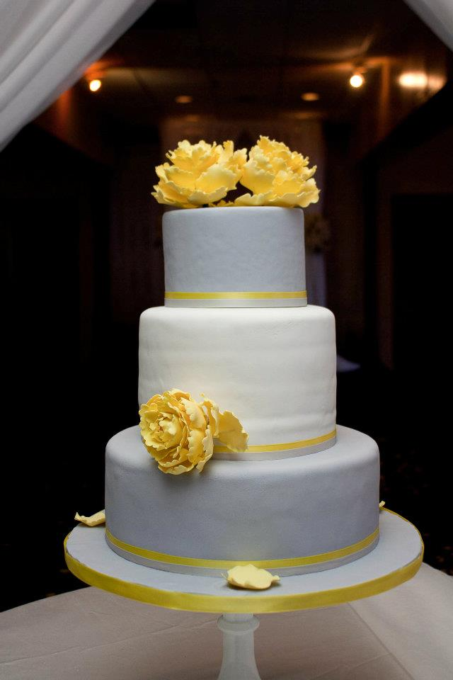 yellow and silver wedding | Branham Perceptions Photography