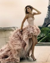 Blush_Pink_Front_Short_and_Long_Back_Feather_Wedding_Dress