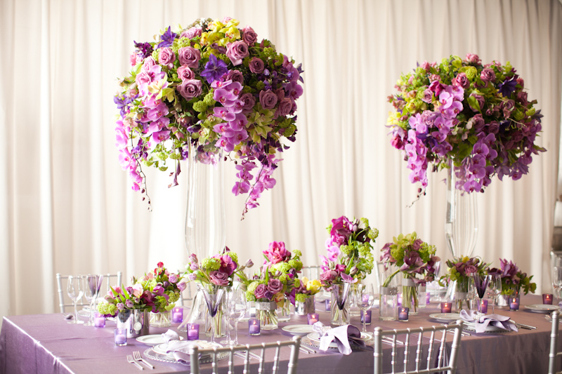 Branham perceptions photography tall wedding for Tall wedding table centerpieces