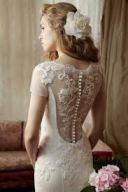 NYC Wedding Photographer - Dress back (10)