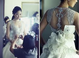 NYC Wedding Photographer - Dress back (11)