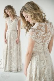 NYC Wedding Photographer - Dress back (13)