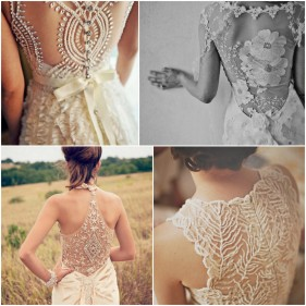 NYC Wedding Photographer - Dress back (14)