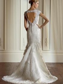 NYC Wedding Photographer - Dress back (15)