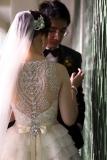 NYC Wedding Photographer - Dress back (19)