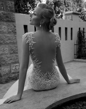 NYC Wedding Photographer - Dress back (3)