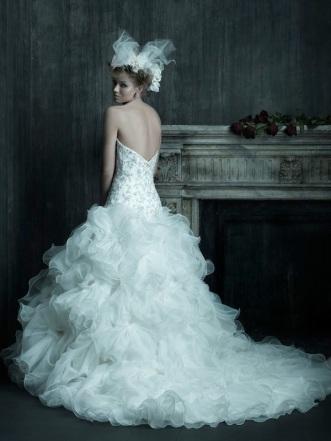 NYC Wedding Photographer - Dress back (5)