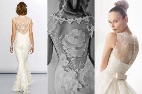 NYC Wedding Photographer - Dress back (7)