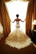 NYC Wedding Photographer - Dress back (9)
